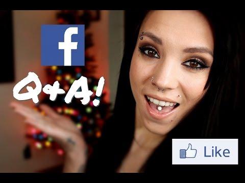 Facebook Q&A! | My Eyes, Rumors, & Mental Illness.
