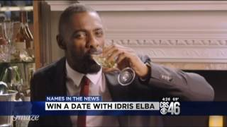 Sharon Reed@cbs46 in Atlanta, GA reacts to Idris Elba