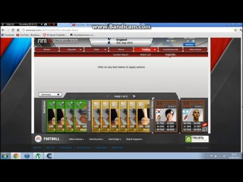 Making Coins On Fifa 12 Ultimate Team Using Cheat Engine