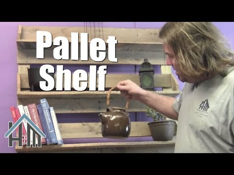 How to build pallet bookshelf. Free and  Easy! Home Mender