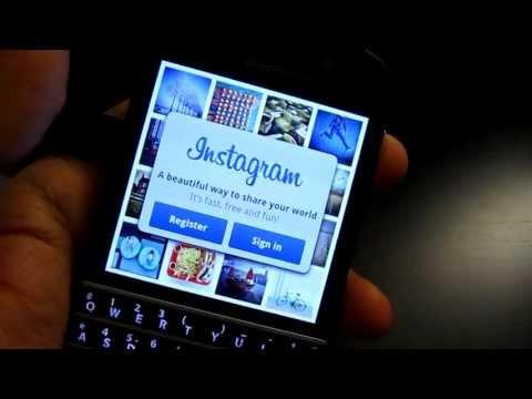 Blackberry Z10/Z30/Q10/Q5/Z3- how to side load apps (eg.Instagram on Q10,Z10 and Q5)