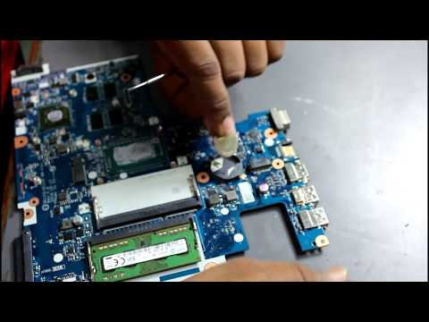 CMOS Battery Replacement from laptop motherboard