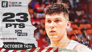 Tyler Herro CRAZY Full Highlights vs Atlanta Hawks (2019.10.14) - 23 Pts, 5 Threes!