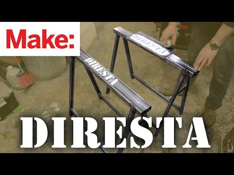 Diresta: Steel Saw Horses