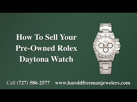 How to Sell Your Rolex Daytona Watch