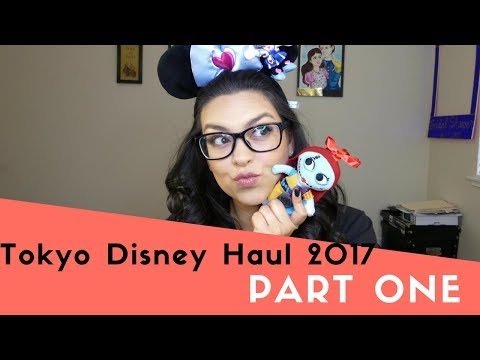 Tokyo Disney Haul 2017  Part One!!!