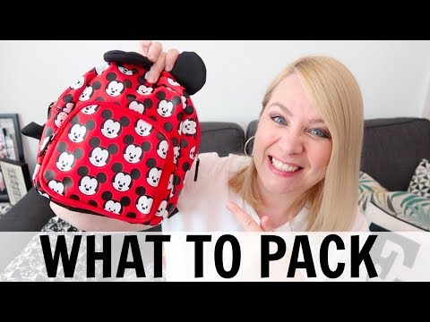 WHAT TO PACK: KIDS CARRY ON!