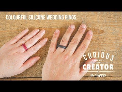 #6 Colourful Silicone Wedding Ring - DIY Curious Creator