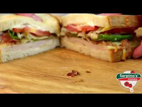 Turkey Club Sandwich - Sarpino's Pizzeria Video