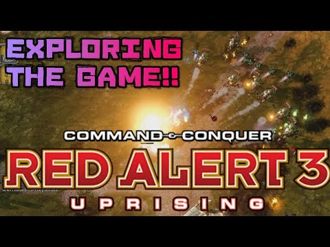 Trying Red Alert 3 Uprising Exploring the Game