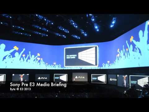 Sony PS4 Debuts at E3 2013