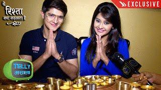 Naksh Gayu Dinner Date With Telly Masala | Exclusive | Yeh Rishta Kya Kehlata Hai