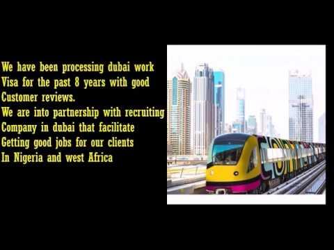 How to get Dubai work visa from Nigeria | Dubai employment visa