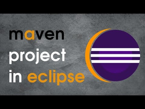 How to create maven project in eclipse using archetype?