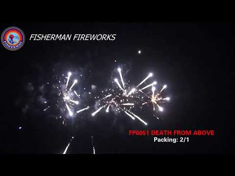 DEATH FROM ABOVE by FISHERMAN Fireworks--Awesome