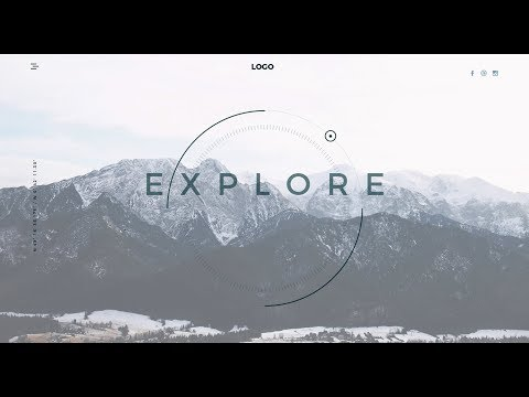 Travel Website Landing Page // HTML & CSS