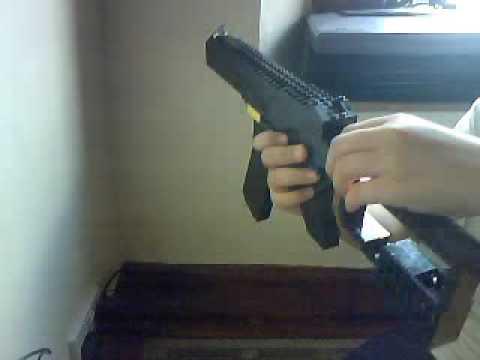 my lego machine gun model