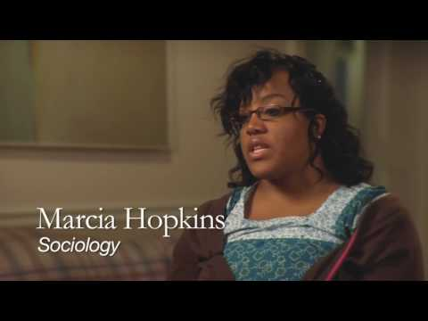 Marcia Hopkins, Sociology Student