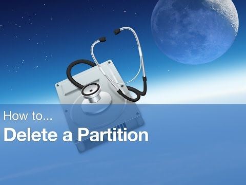 HOW TO: Delete a partition on Mac