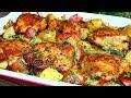 Creamy Garlic Butter Chicken and Potatoes Recipe - Easy Chicken and Potatoes Recipe