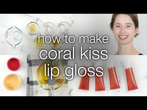 How to Make Coral Kiss Lip Gloss