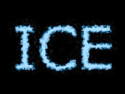 Eazy Ice/Frozen Text Effect - GIMP 2.8 Tutorial