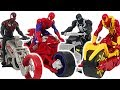 Ultimate Spider Man Web Warriors Motorcycle And ATV Go DuDuPopTOY