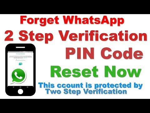 Forget Two Step Verification Whatsapp PIN ? RESET NOW (बस ये हैं तरीका)