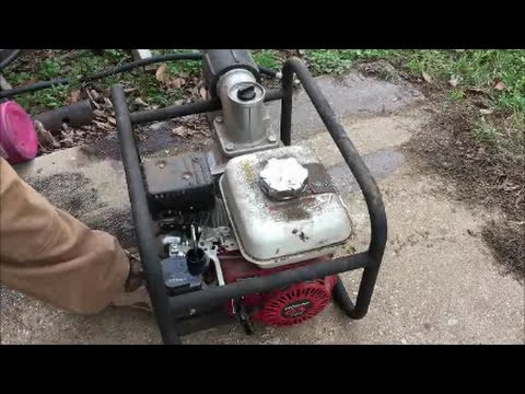 Starting A Small Engine After It's Been Sitting For 3 Years