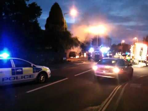 Car Fire Exmouth 30-08-2011
