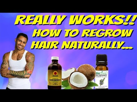 How To Regrow Hair Naturally For Men And Woman – This Really Works!!