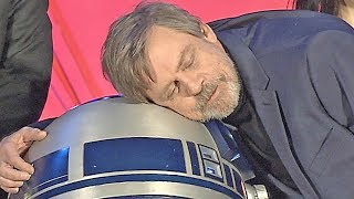 Star Wars The Last Jedi in Tokyo - attend the premiere with Luke Skywalker (2017)