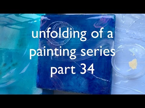 Unfolding of a Painting Series part 34