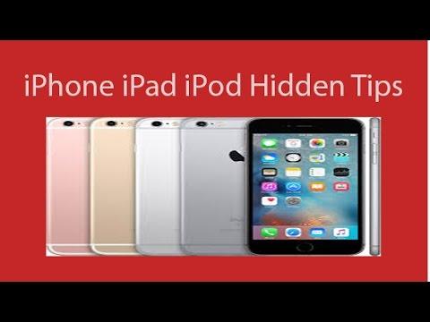 Hidden Tips For iPhone iPad iPod  IOS 10.2.1 9.3.5  9.3.1 9.3.2 9.3.3