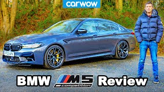 New BMW M5 2021 review: see how BONKERS quick it is to 60mph!