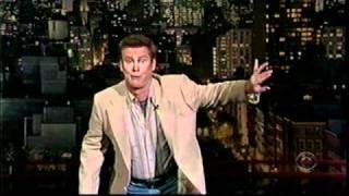 Brian Regan on Letterman show - June 2007