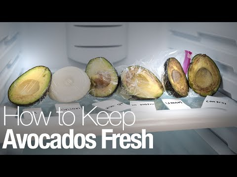 Here's the best way to keep an avocado from browning