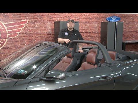 2015-2017 Mustang Convertible CDC Black Light Bar Installation