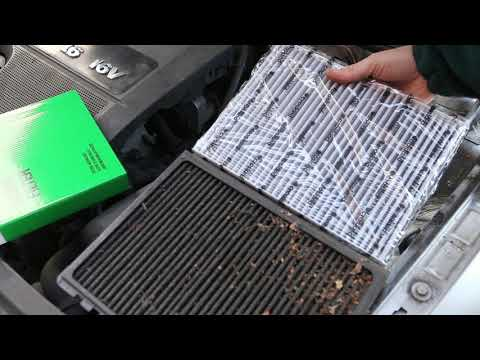 Remove and Replacing Fitting New Pollen/Cabin filter VW Golf/Bora/Beetle