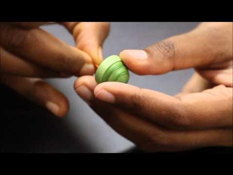 How to make Jhumka / Jimikki Quilling Tutorial: Craftab