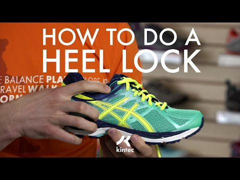 Heel Lock Lacing Technique | Kintec: Footwear + Orthotics