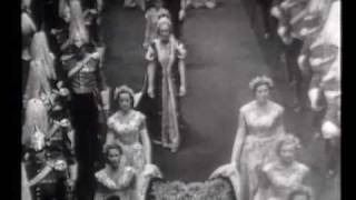 BBC TV - Queen Elizabeth Coronation 1953