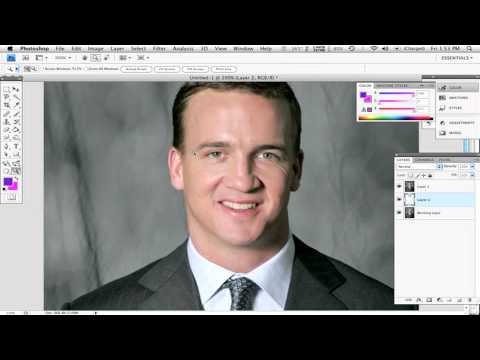 How to Fix Your Hairline & Reduce Forehead Size in Photoshop