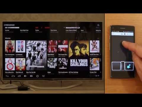 Handy Smart TV launcher - control your Android TV Box with smartphone or tablet