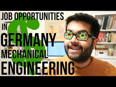Job Opportunities in Germany: Mechanical Engineering