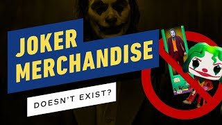 Want To Buy Joker Merchandise? Too Bad, It Barely Exists