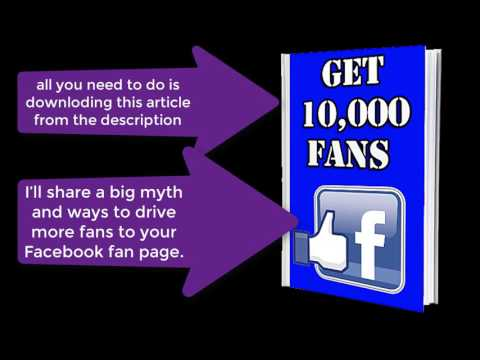 How to Get Your First 10,000 Fans on Facebook