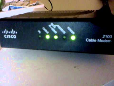 Working CISCO cable modem 2100