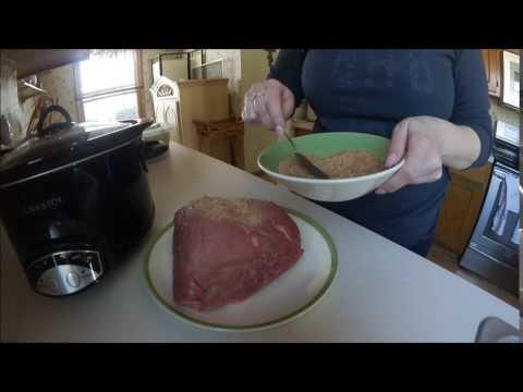 Slow Cooker Rump Roast