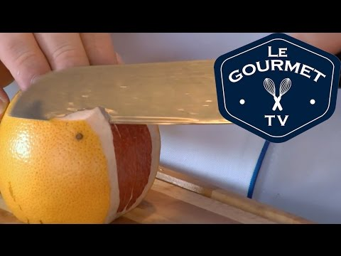 Chef Tip - How to Peel and Segment a Grapefruit || Le Gourmet TV Recipes